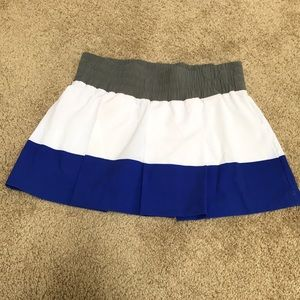 Stella McCartney / adidas white multi small skort